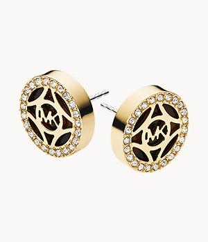 MK Stud Earrings
