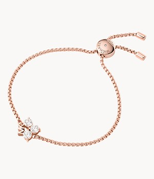 Michael Kors Rose Gold-Tone Brass Bracelet