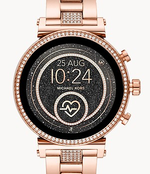 REMIS À NEUF Montre intelligente Sofie Gen 4 Michael Kors