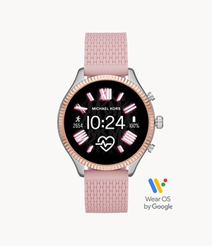 Michael Kors Gen 5 Lexington Smartwatch - Pink Silicone