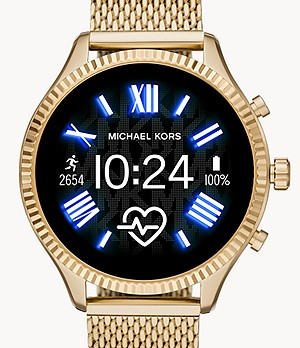 Michael Kors Gen 5 Lexington Smartwatch - Gold-Tone with Strap Set