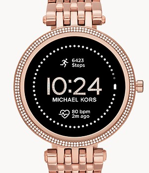 Michael Kors Gen 5E Darci Smartwatch - Rose Gold-Tone Stainless Steel