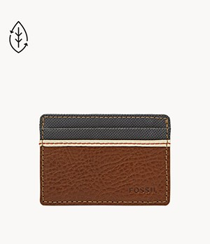 Herren Geldbörse - Elgin ID Card Case Front Pocket Wallet