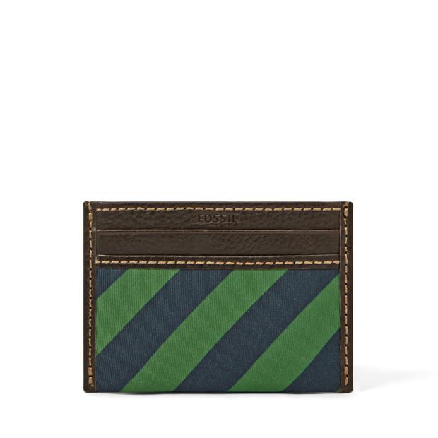 Pierce Slim Card Case Front Pocket Wallet