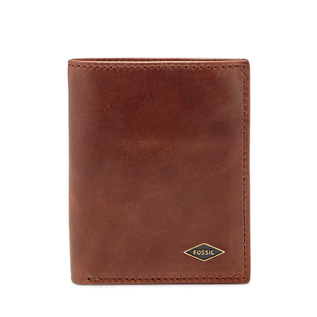 Portefeuille Ryan à deux volets avec poche porte-monnaie RFID