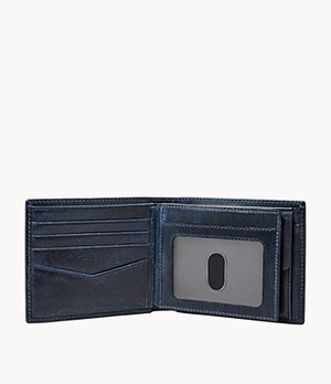 Ryan RFID Large Coin Pocket Bifold