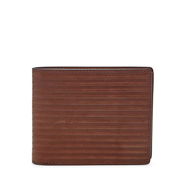 Portefeuille à deux volets Avery avec poche porte-monnaie