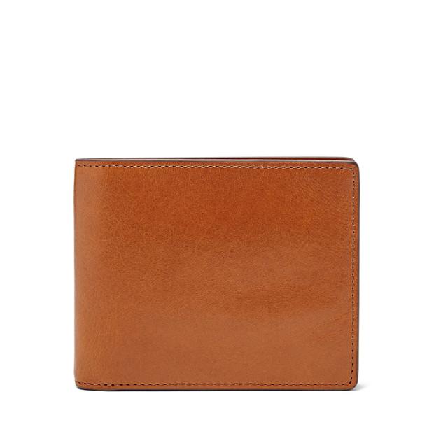 Herren Geldbörse - Isaac Large Coin Pocket Bifold