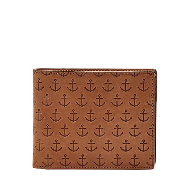 Portefeuille Mason à deux volets avec poche porte-monnaie