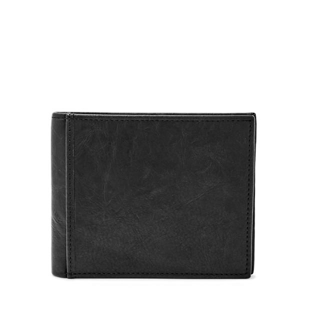 Portefeuille Ingram à deux volets avec poche porte-monnaie RFID