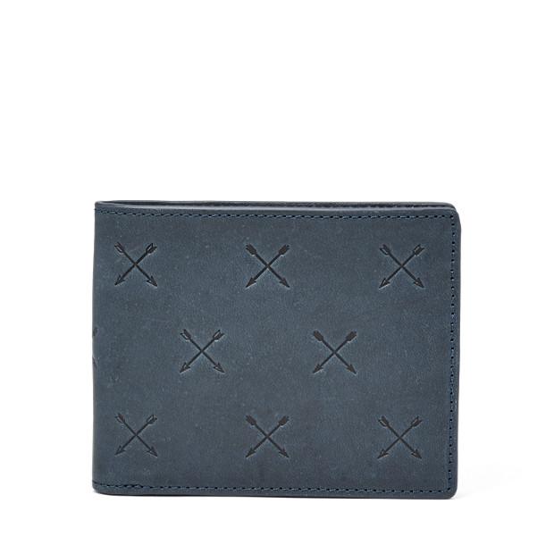 Portefeuille à deux volets Maverick avec poche porte-monnaie