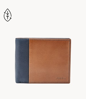 Herren Geldbörse - Ward RFID Large Coin Pocket Bifold