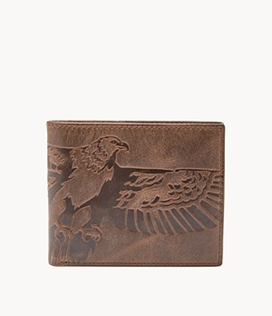 Herren Geldbörse - Eagle Large Coin Pocket Bifold