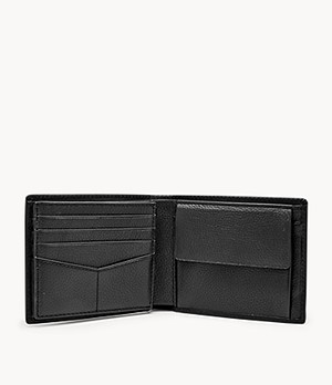 Kane Large Coin Pocket Bifold and Keyfob Gift Set