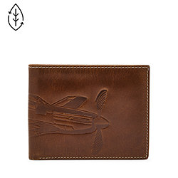 4a77bf106335 Mens Bifold Wallets: Shop Leather Bifold Wallets for Men - Fossil