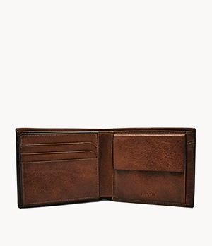 Beck Large Coin Pocket Bifold