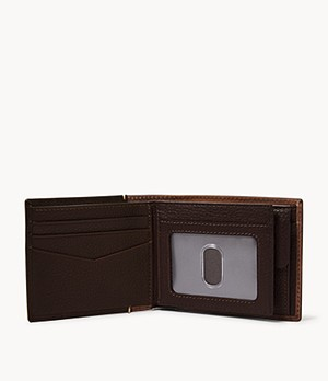 Herren Geldbörse Ward - RFID Large Coin Pocket Bifold
