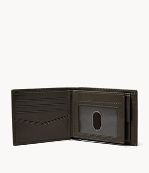 Herren Geldbörse Ryan - RFID Large Coin Pocket Bifold