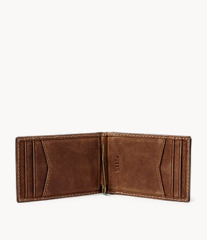 Russell RFID Money Clip Bifold