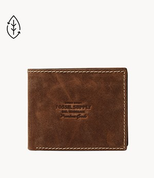 Russell RFID Large Coin Pocket Bifold