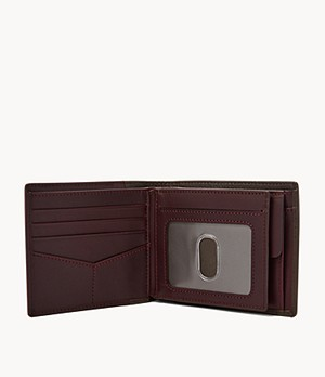 Ward RFID Large Coin Pocket Bifold