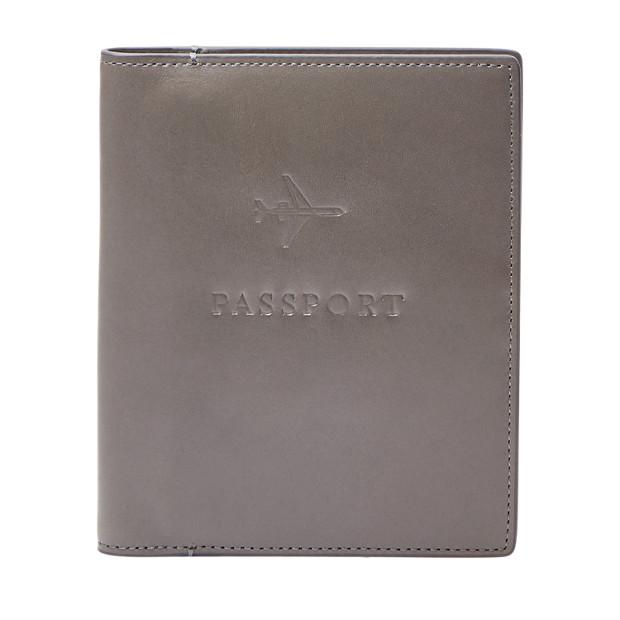レザー RFID パスポートケース