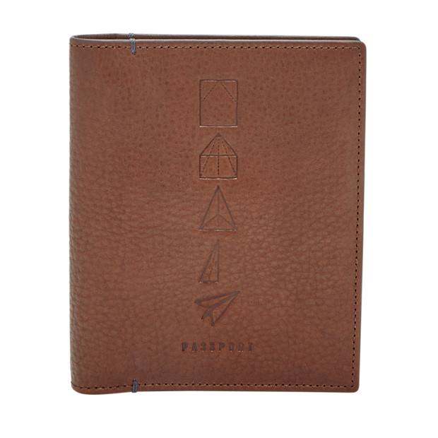 Herren Passhülle - RFID Passport Case
