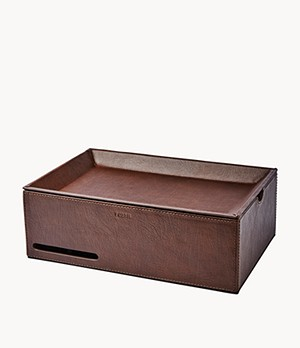 Herren Uhrenbox - Ten-Piece Valet Box