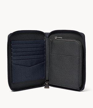 Herren Passhülle - Zip Passport Case