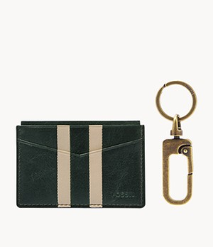 Card Case and Key Fob Gift Set