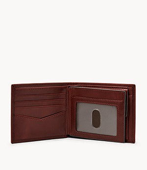 Ryan Large Coin Pocket Bifold and Belt Gift Set