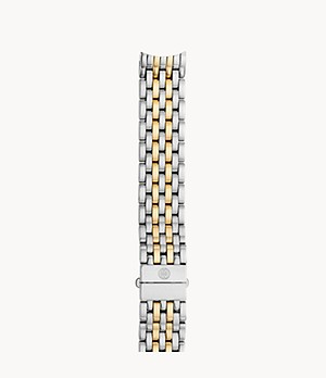16mm Serein Seven-Link Two-Tone 18K Gold Bracelet