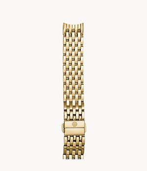 18mm Sidney Gold-Plated Seven-Link Bracelet