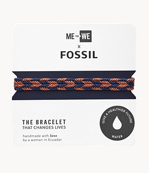 Bracelet « Eau » Minga de ME to WE x Fossil