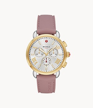Sporty Sport Sail Gold Tone Watch