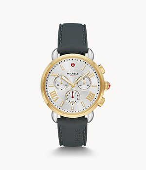 Sporty Sport Sail Two-Tone Watch