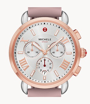 Sporty Sport Sail Two-Tone Pink Gold Watch
