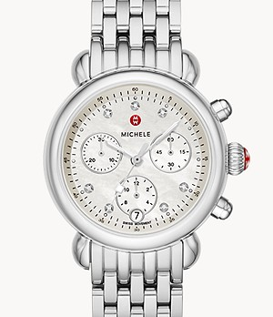 CSX 36 Stainless Diamond Watch