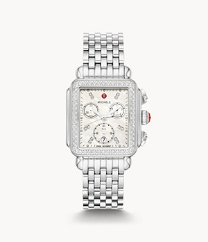 Deco Stainless Diamond Watch
