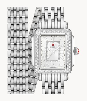 Deco Madison Mini Stainless Diamond Watch