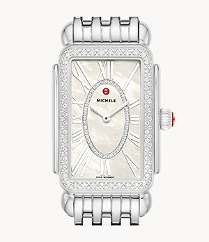 Special-Edition Deco Park Stainless Steel Diamond Watch