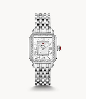 Deco Madison Mid Stainless Diamond Watch