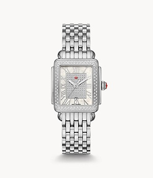 Special-Edition Deco Madison Mid Stainless-Steel Diamond Watch