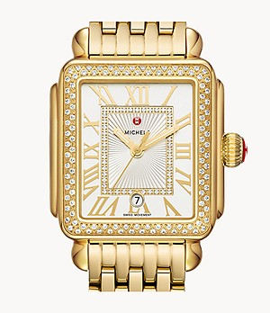 Deco Madison 18K Gold Diamond Watch