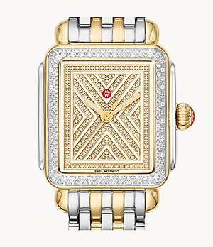 Limited-Edition Art of Deco 18K Gold Two-Tone Diamond Watch