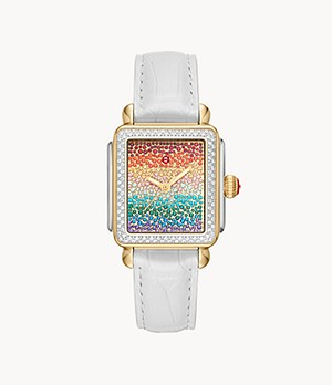 Limited-Edition Deco Carousel Pavé Two-Tone Diamond Watch