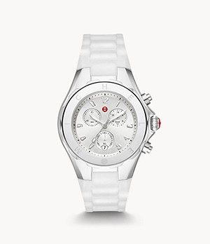 Jellybean Stainless White Watch