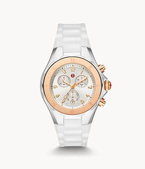 Jellybean Two-Tone 18k Pink Gold Watch