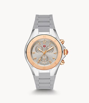 Montre bicolore or rose de 18 carats Jellybean