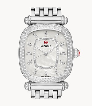 Caber Isle Stainless Diamond Watch